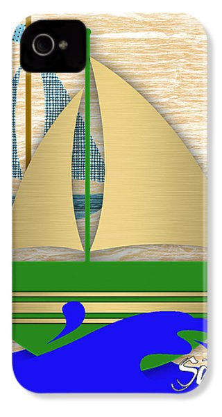 Sailing Collection IPhone 4 / 4s Case by Marvin Blaine