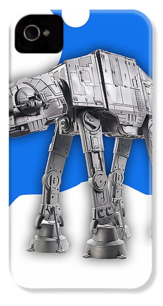 Star Wars At-at Collection IPhone 4 / 4s Case by Marvin Blaine