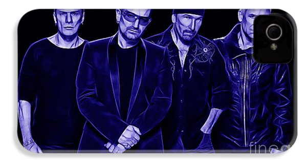 U2 Collection IPhone 4 / 4s Case by Marvin Blaine