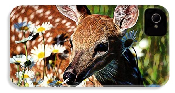 Deer IPhone 4 / 4s Case by Marvin Blaine