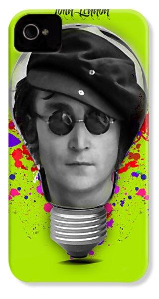 John Lennon IPhone 4 / 4s Case by Marvin Blaine