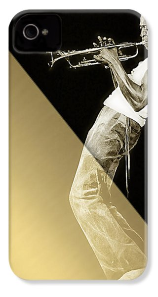 Miles Davis Collection IPhone 4 / 4s Case by Marvin Blaine
