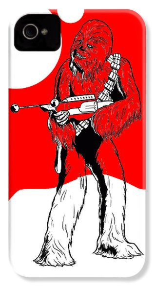 Star Wars Chewbacca Collection IPhone 4 / 4s Case by Marvin Blaine