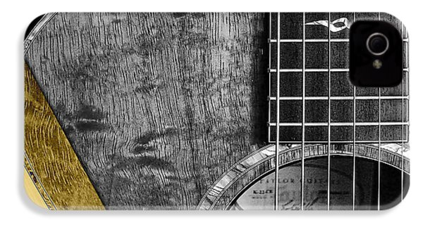 Acoustic Guitar Collection IPhone 4 / 4s Case by Marvin Blaine