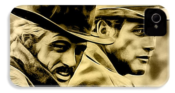 Paul Newman Collection IPhone 4 / 4s Case by Marvin Blaine