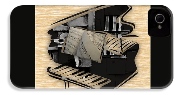 Piano Collection IPhone 4 / 4s Case by Marvin Blaine