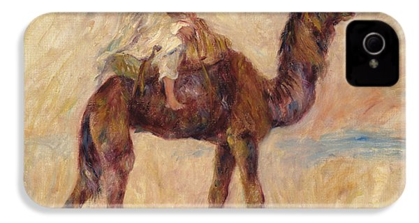 A Camel IPhone 4 / 4s Case by Pierre Auguste Renoir