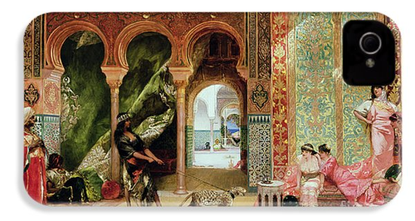 A Royal Palace In Morocco IPhone 4 / 4s Case by Benjamin Jean Joseph Constant