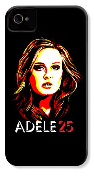 Adele 25-1 IPhone 4 / 4s Case by Tim Gilliland