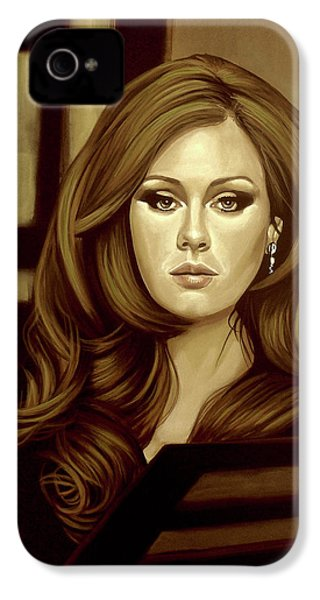 Adele Gold IPhone 4 / 4s Case by Paul Meijering