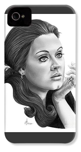 Adele IPhone 4 / 4s Case by Murphy Elliott