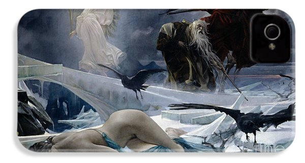 Ahasuerus At The End Of The World IPhone 4 / 4s Case by Adolph Hiremy Hirschl