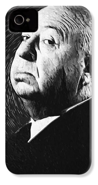 Alfred Hitchcock IPhone 4 / 4s Case by Taylan Soyturk