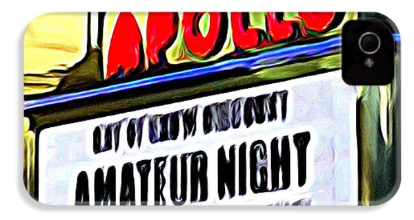 Amateur Night IPhone 4 / 4s Case by Ed Weidman