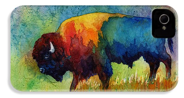 American Buffalo IIi IPhone 4 / 4s Case by Hailey E Herrera