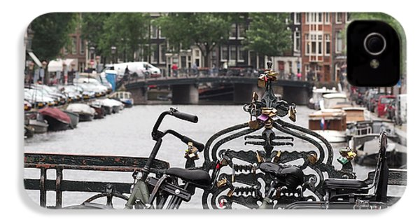 Amsterdam IPhone 4 / 4s Case by Rona Black