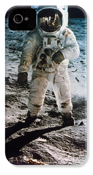 Apollo 11: Buzz Aldrin IPhone 4 / 4s Case by Granger
