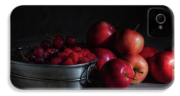 Apples And Berries Panoramic IPhone 4 / 4s Case by Tom Mc Nemar