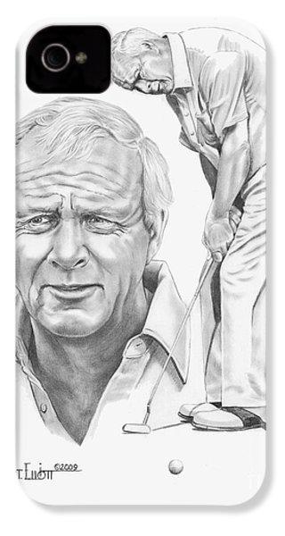 Arnold Palmer IPhone 4 / 4s Case by Murphy Elliott