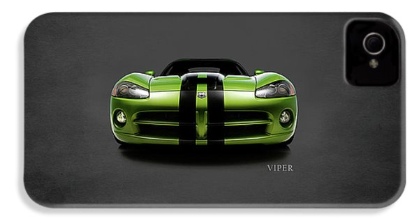 Dodge Viper IPhone 4 / 4s Case by Mark Rogan