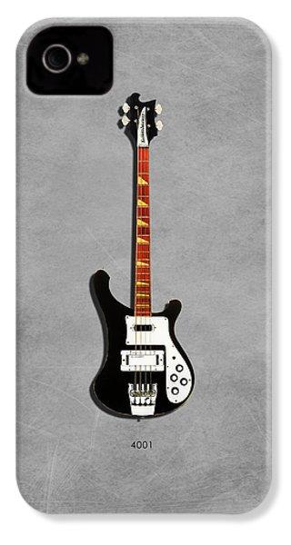 Rickenbacker 4001 1979 IPhone 4 / 4s Case by Mark Rogan