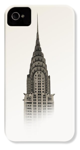 Chrysler Building - Nyc IPhone 4 / 4s Case by Nicklas Gustafsson