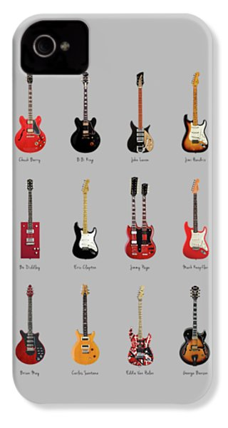 Guitar Icons No1 IPhone 4 / 4s Case by Mark Rogan