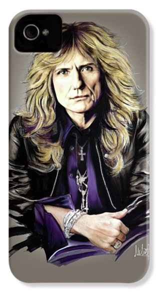 David Coverdale IPhone 4 / 4s Case by Melanie D