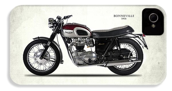Triumph Bonneville 1968 IPhone 4 / 4s Case by Mark Rogan