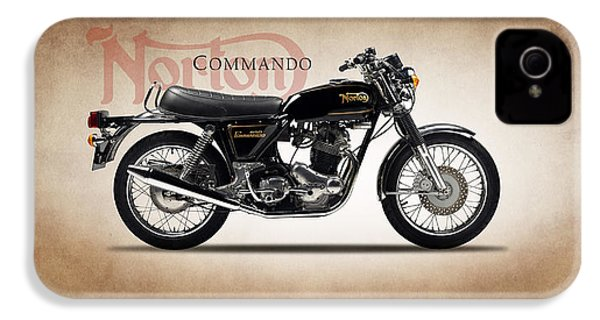 Norton Commando 1974 IPhone 4 / 4s Case by Mark Rogan