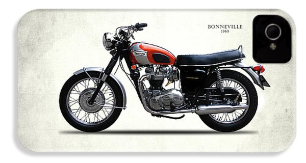 Triumph Bonneville 1969 IPhone 4 / 4s Case by Mark Rogan