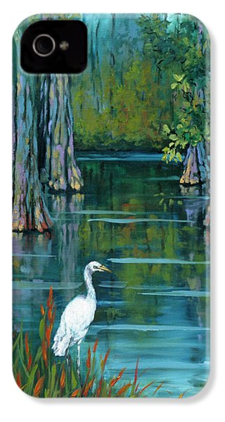 The Fisherman IPhone 4 / 4s Case by Dianne Parks