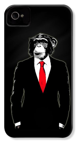 Domesticated Monkey IPhone 4 / 4s Case by Nicklas Gustafsson