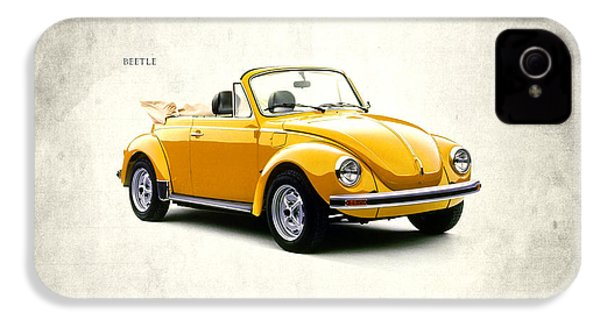Vw Beetle 1972 IPhone 4 / 4s Case by Mark Rogan