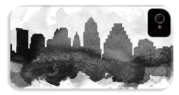Austin Cityscape 11 IPhone 4 / 4s Case by Aged Pixel