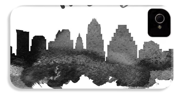 Austin Texas Skyline 18 IPhone 4 / 4s Case by Aged Pixel