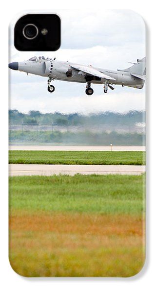 Av-8 Harrier IPhone 4 / 4s Case by Sebastian Musial