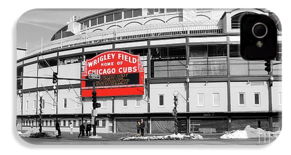 B-w Wrigley 100 Years Young IPhone 4 / 4s Case by David Bearden