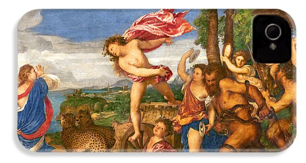Bacchus And Ariadne IPhone 4 / 4s Case by Titian