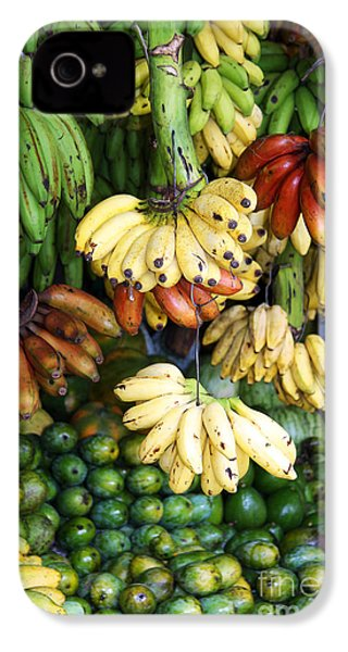 Banana Display. IPhone 4 / 4s Case by Jane Rix