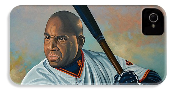 Barry Bonds IPhone 4 / 4s Case by Paul Meijering