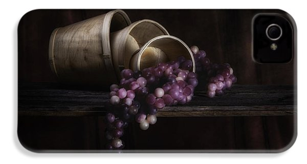 Basket Of Grapes Still Life IPhone 4 / 4s Case by Tom Mc Nemar
