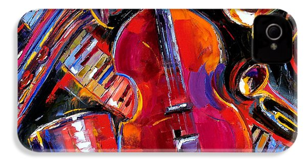 Bass And Friends IPhone 4 / 4s Case by Debra Hurd
