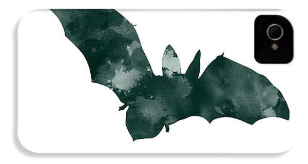 Bat Minimalist Watercolor Painting For Sale IPhone 4 / 4s Case by Joanna Szmerdt