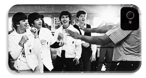 Beatles And Clay, 1964 IPhone 4 / 4s Case by Granger