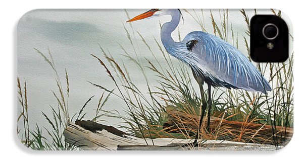 Beautiful Heron Shore IPhone 4 / 4s Case by James Williamson