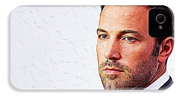 Ben Affleck IPhone 4 / 4s Case by Iguanna Espinosa