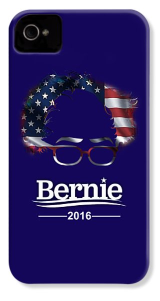 Bernie Sanders 2016 IPhone 4 / 4s Case by Marvin Blaine