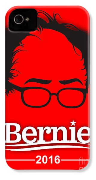 Bernie Sanders IPhone 4 / 4s Case by Marvin Blaine