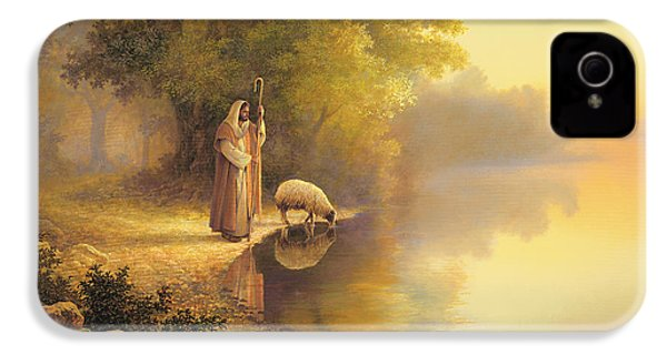 Beside Still Waters IPhone 4 / 4s Case by Greg Olsen
